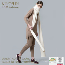 Kaschmir-strickender Schal, reine Kaschmir-Schals, weibliche Strickjacke