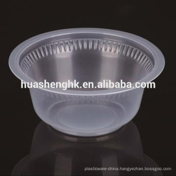 Food Grade Microwavable 450ml / 15ozDisposable Plastic Pasta Bowl