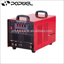 Inverter Pulse Argon máquina de soldadura TIG200PACDC máquina de soldar