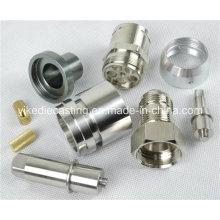 Mecanizado del metal del CNC del acero inoxidable de la precisión