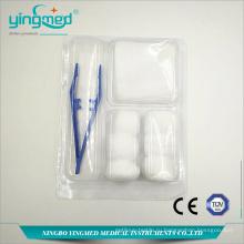 Одноразовые медицинские наборы для перевязки ран