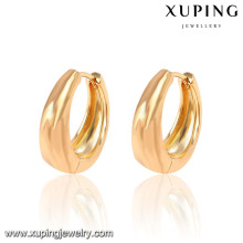 26933-Xuping Schmuck Mode 18K Gold Plated Hoop Ohrring mit Promotion-Preis