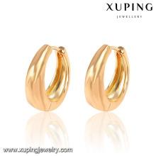 Brinco chapeado da argola da forma 18K da jóia de 26933-Xuping com preço da promoção