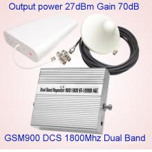 Amplificateur de signal mobile Dual Band GSM Dcs 900 / 1800MHz St-1090b