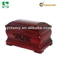 antique wooden urns JS-URN170
