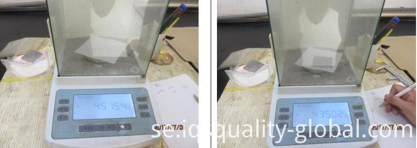 zinc coating test inspection