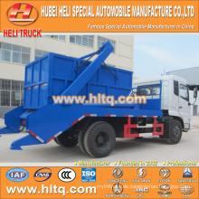 Neues Modell DONGFENG 4x2 10cbm B190 33 190hp überspringen Loader Müllwagen Arm Swing Sanitär Fahrzeug Müll LKW heißen Verkauf in China