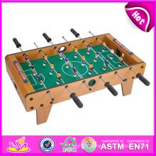 2014 nouvelle conception de jouer au football table, table de football à domicile, football pas cher table, vente chaude football table jouet usine W11A031