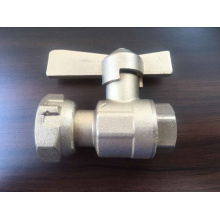 Válvula de plomo del medidor de agua de latón (a 8008)