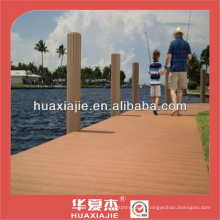 Eco-friendly wood composite decking