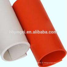 Feuille souple de PVC pour le plancher