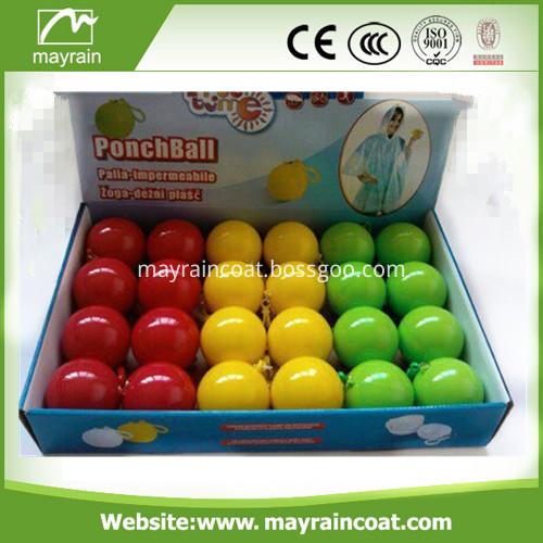 Ball Disposable PE Poncho