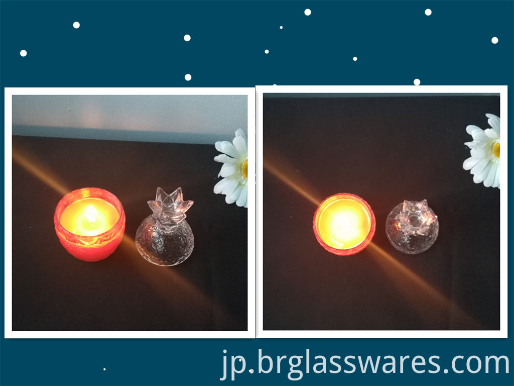 glass candle jar 9