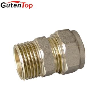 GutenTop brass Ferrule Type Double Ferrule Compression Fitting