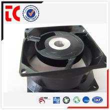 Profissional alumínio de alta qualidade fundição caso ventilador personalizado feito para acessório mecânico