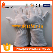 White Cotton Glove with Long Cuff (DCH247)