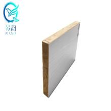 Piano 20mm E0 glue ultra brighten/matte/relief  HPL overlaid surface concrete block board for wardrobes with fsc certificate