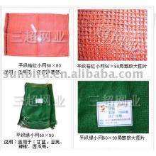 plastic meshy bag for vegetable and fruit