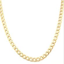Edelstahl-Gold-Art- und Weiseschmucksache-Halskette