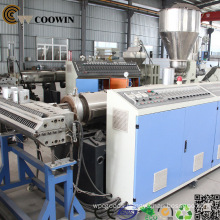 WPC Decorative Board Production Line PVC Wood Plastic Co - Extrusion Machine