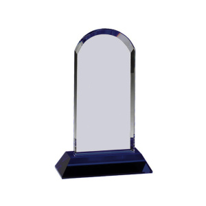Personalized crystal trophy plaque crystal awards