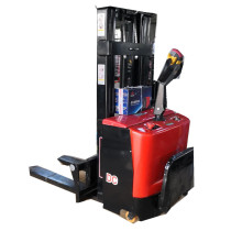 Popular in Europe pedal full electric pallet stacker