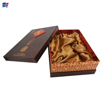 Luxury wine and tea packaging gift box
