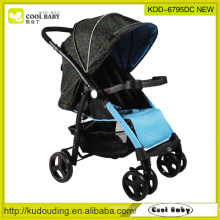 2015 New Baby Stroller China Manufacturer Lightweight Reversible Seat Direction Swivel Wheels with Suspension Direction Fixer