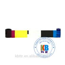 kit de limpeza de impressão térmica compatível cp40 cp60 cd800 id cartão de impressora cor 535000-003 fita de cor de datacard