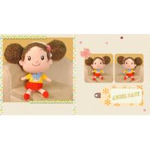 Cartoon girl plush dolls