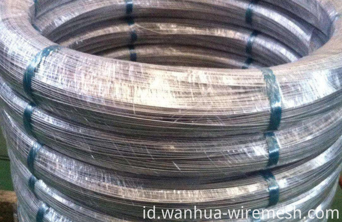 Economic and Efficient high carbon oval galvanized steel wire (1)