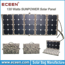 2017 Amazon hot sale 130W sunpower folding cheapest the solar panel