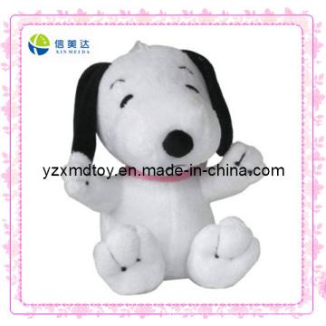 Мягкая игрушка для промотирования плюша малого размера белая собака дешевая