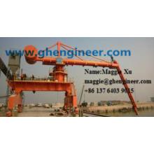 Tipo de tornillo Silos de carbón de grano Equipo de carga y descarga de buques