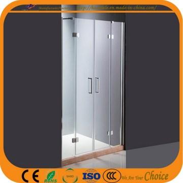 Прозрачный стеклянный экран для душа для ванной (ADL-8A5)