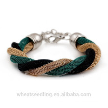 Fashion Summer Fresh Wire Weave Bracelet For Women