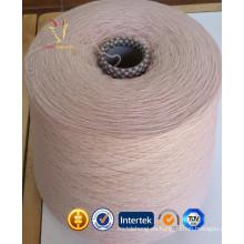 NM2 / 26 100% hilado de lana de cachemira orgánico 28/2 DK
