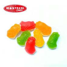 Сладкие фруктовые рождественские жевательные конфеты в форме колокольчика