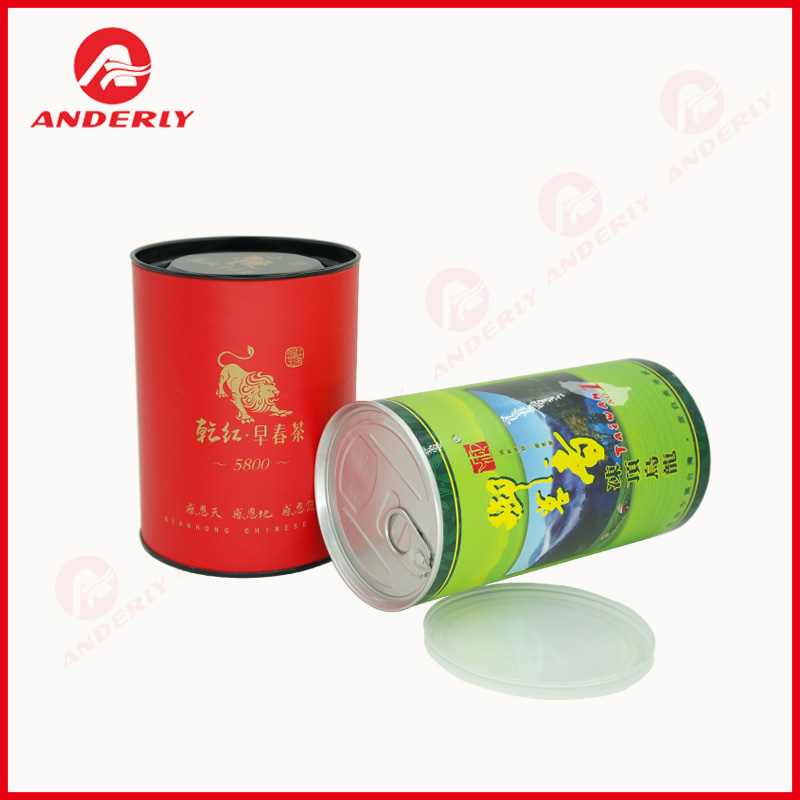 Tea Packaging Canister