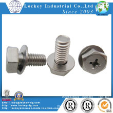 Ss304 Ss316 Hex Bolt Hex Flange Bolt Hex Screw