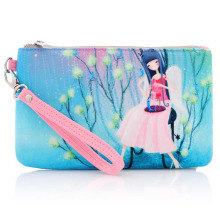 Lady Fashion Promotional Printed Cotton Canvas Cosmetic Travel Bag (YKY7531-4)