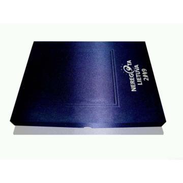 Boîte cadeau en papier imprimé avec finition spéciale
