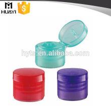 24MM PP plastic containers flip top cap
