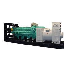 Générateur diesel 2400kw 3000kVA haute tension 11kv avec transformateur