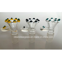 Wholesale! New Cute Glass Bowl for Glass Smokiing Pipe