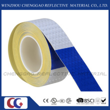 """Conspicuity 6"""" Blue / 6"""" White Reflective Safety Tape (C3500-B(D))"""