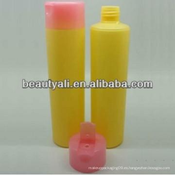 Botella plástica del champú del PE botella del pe del aceite esencial