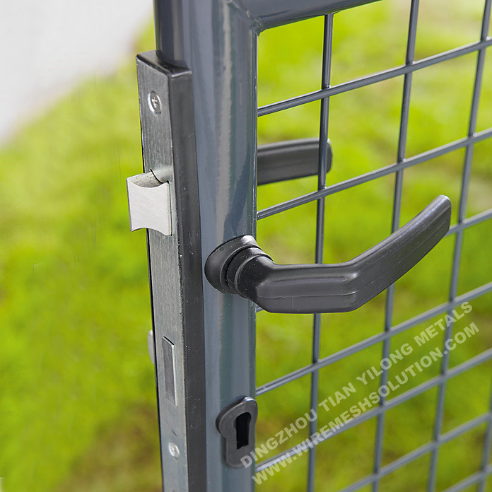 1500 x 4000mm Double Garden Gate