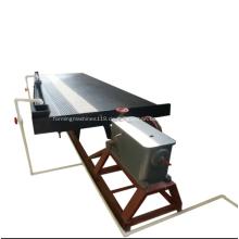 Gravity Mining Equipment Wassertyp Schütteltisch