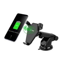 10w 7.5w Selbstklemmendes Autotelefon-Ladegerät
